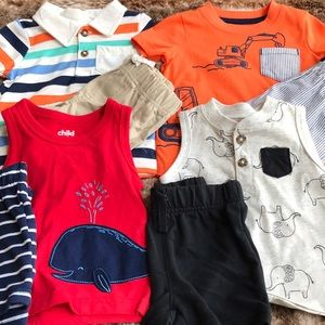 3-6 Month Matching Set Clothing Lot 8 pieces) NWOT